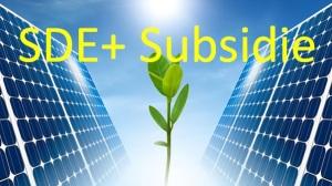 Foto aanvraag SDE+ subsidie